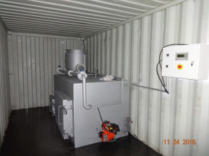 Containerized Incinerator